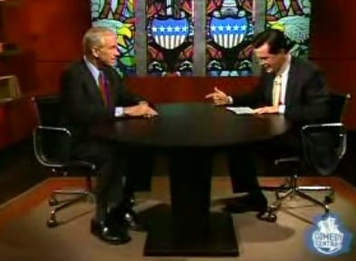 Ron Paul appearing on The Colbert Report an 6/13/2007