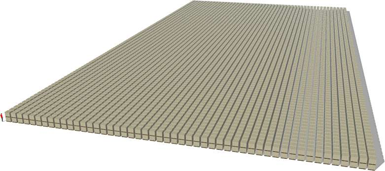 1 Trillion Dollars in Hundred Dollar Bills on Forklift Pallets