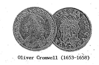 Oliver Cromwell Coin